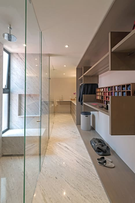 PH Andersen: Vestidores y closets de estilo  por Faci Leboreiro Arquitectura, Moderno