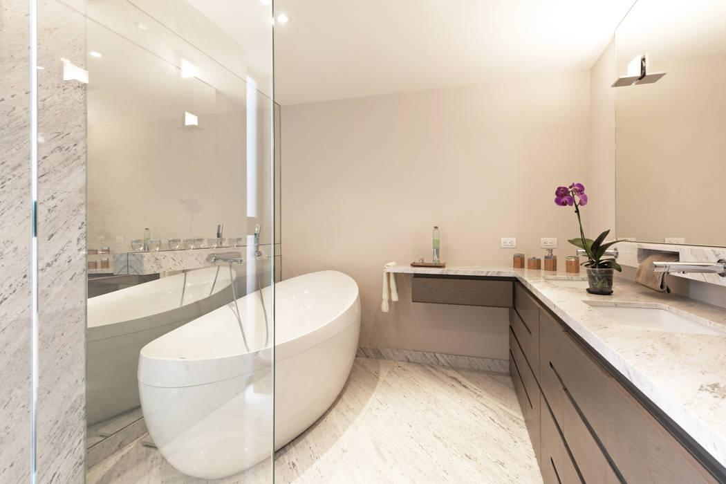 PH Andersen: Baños de estilo  por Faci Leboreiro Arquitectura