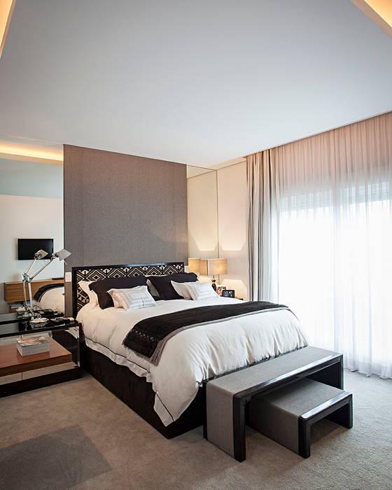 quarto casal Quartos modernos por korman arquitetos Moderno