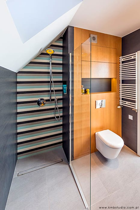 kmb studio Modern bathroom
