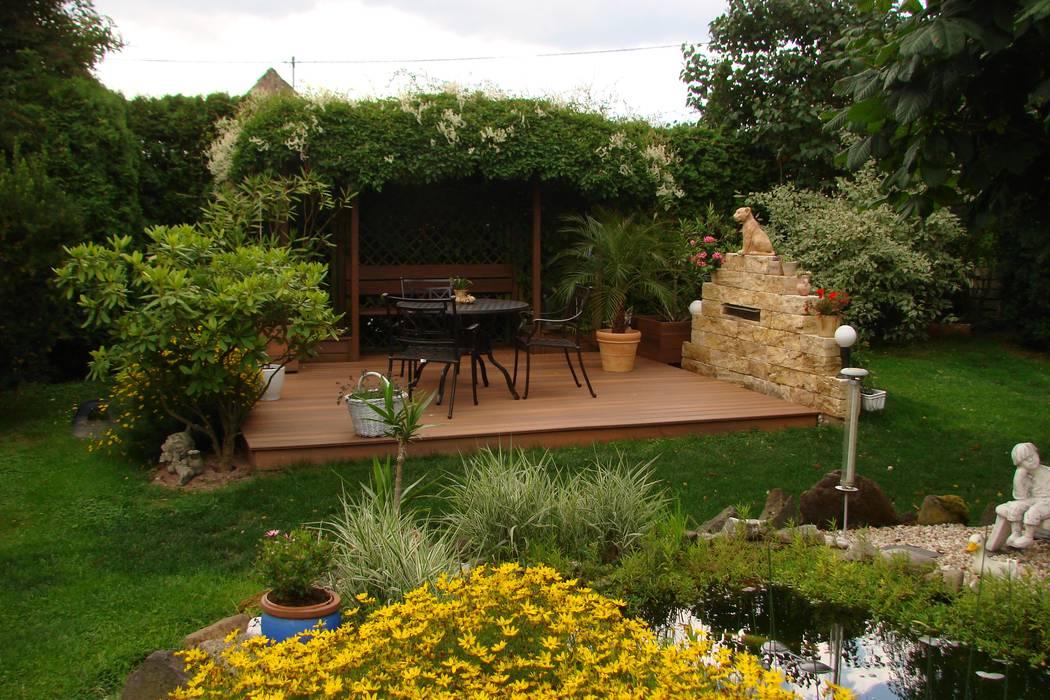 Terrasse Mit Fiberon Wpc Dielen Terrasse Von Bego Holz Und Stahl