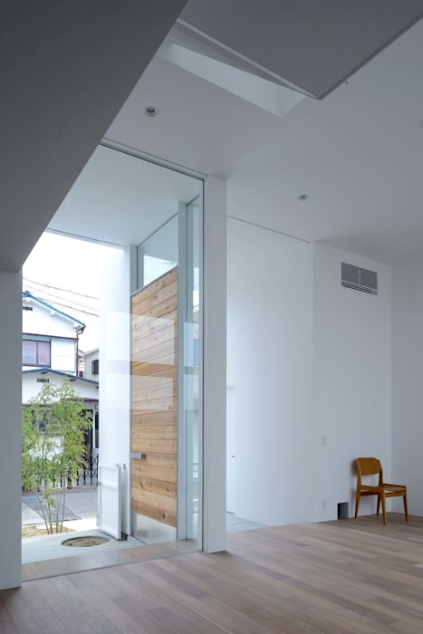 永楽荘の家 - House of Eirakusou モダンな 窓&ドア の 林泰介建築研究所 モダン