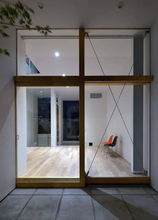 永楽荘の家 - House of Eirakusou: 林泰介建築研究所が手掛けた窓です。