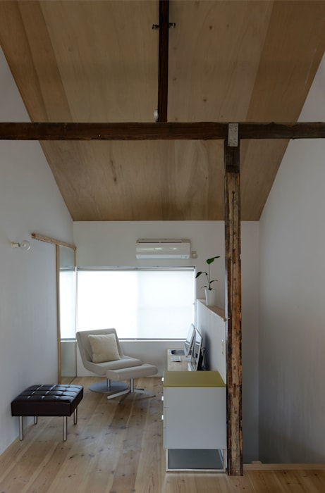 生野区 の長屋 - Row house of Ikunoku: 林泰介建築研究所が手掛けた和室です。