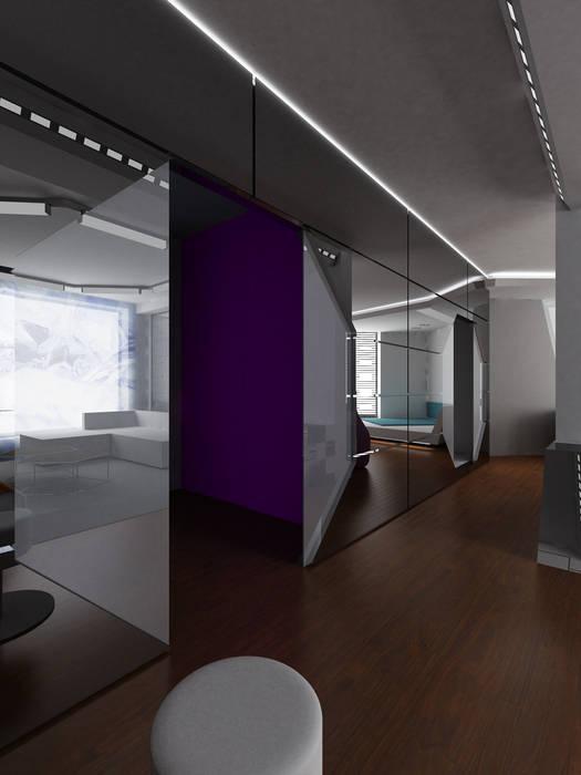 Коридор Коридор, прихожая и лестница в стиле минимализм от (DZ)M Интеллектуальный Дизайн Минимализм