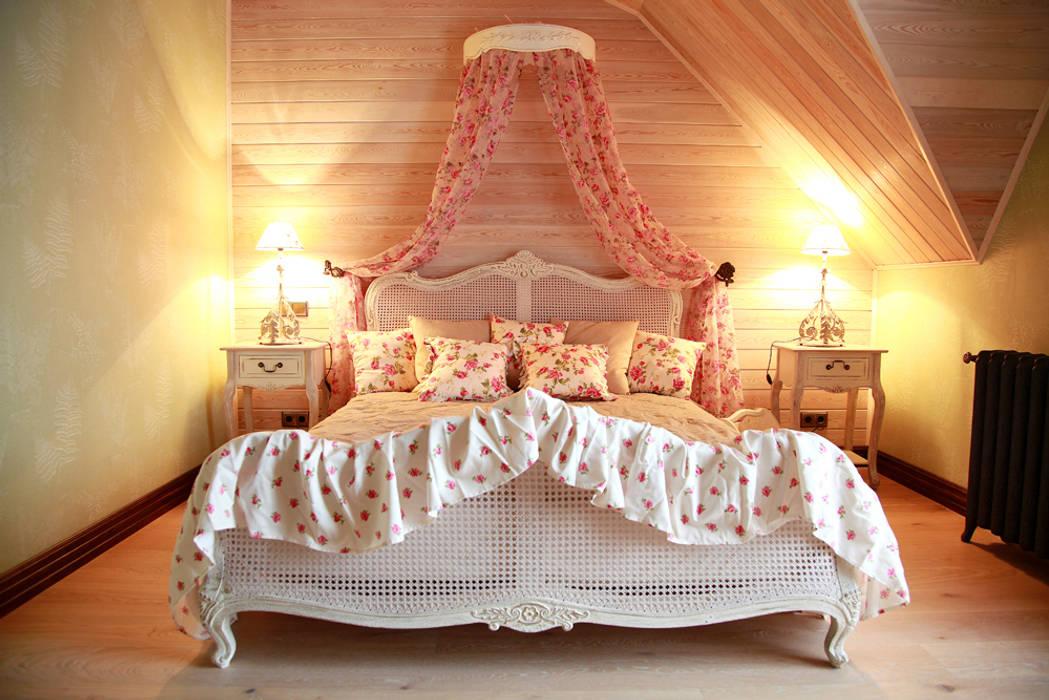 Мастер-спальня.:  в . Автор – Мария Остроумова, Кантри