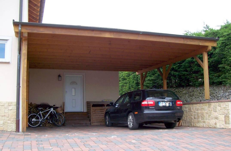Doppel Carport Garage Schuppen Von Bego Holz Und Stahl Homify