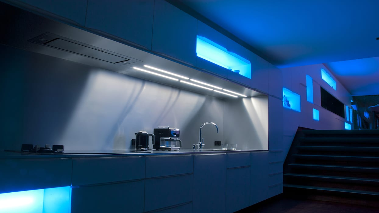 Droomhuis met ambylight keuken door lab architecten homify