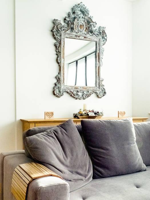 Apartament w Zakopanem - salon Minimalistyczny salon od Jacek Tryc-wnętrza Minimalistyczny