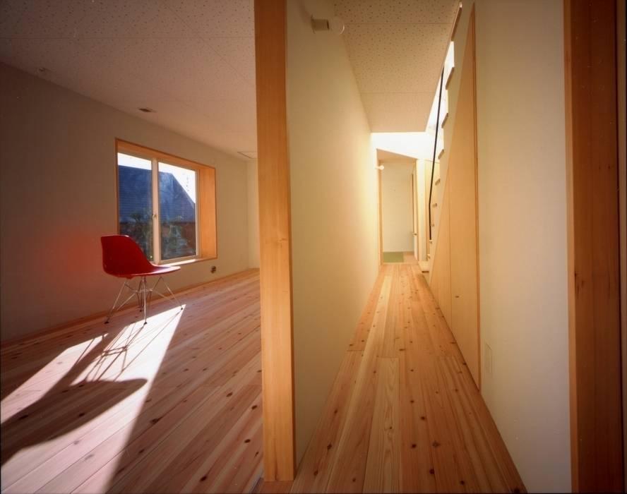 目神山の家 - House of Megamiyama ラスティックデザインの 子供部屋 の 林泰介建築研究所 ラスティック