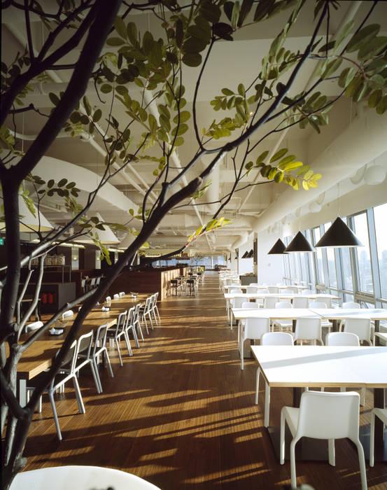 ●24F  Plant 24: B&A DESIGN COMMUNICATION의  레스토랑,모던