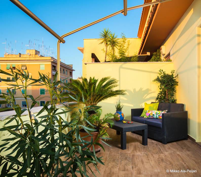 Balcones y terrazas clásicos de Maurizio Giovannoni Studio Clásico