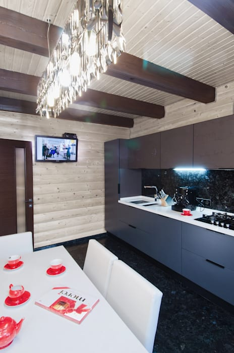 Samarina projects Rustic style kitchen