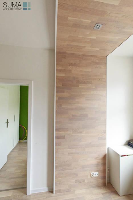 FAMILY_ONE: styl , w kategorii Sypialnia zaprojektowany przez SUMA Architektów