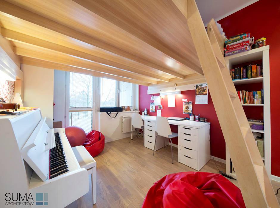 FAMILY_ONE: styl , w kategorii Pokój dziecięcy zaprojektowany przez SUMA Architektów