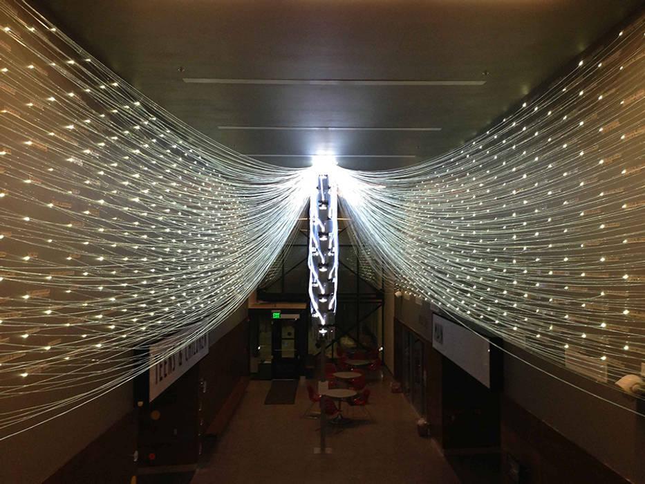Filament Mind: Yong Ju Lee Architecture의  거실