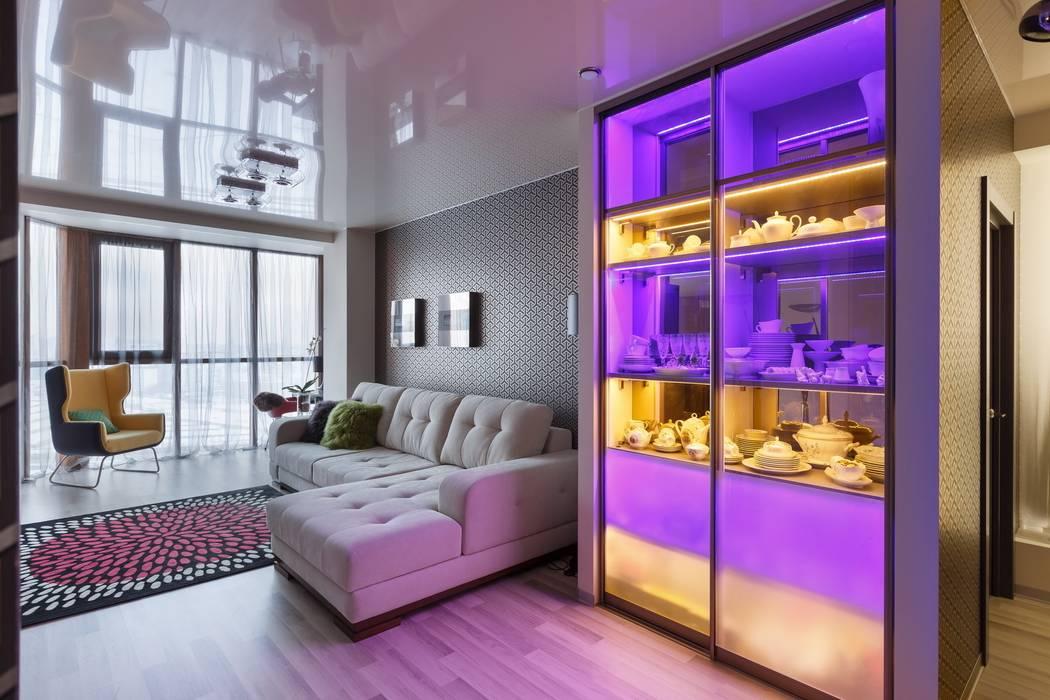 Коридор Коридор, прихожая и лестница в скандинавском стиле от (DZ)M Интеллектуальный Дизайн Скандинавский