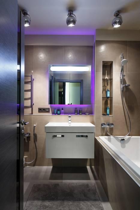 Ванная комната: Ванные комнаты в . Автор – (DZ)M Интеллектуальный Дизайн, Скандинавский