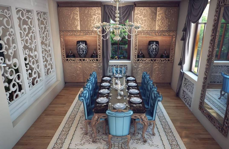 Ferre Yemek Takımı / Özel Sonmez Mobilya Avantgarde Boutique Modoko Klasik Yemek Odası