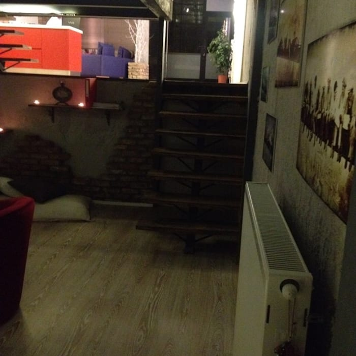 Loft house bodrum kat after Loft House Tasarım Ofisi
