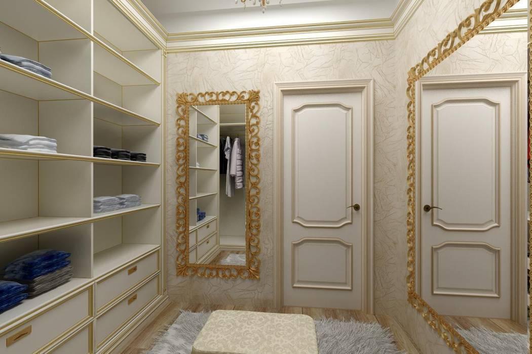 Дизайн гардеробной: Гардеробные в . Автор – Дизайн студия 'Exmod' Павел Цунев