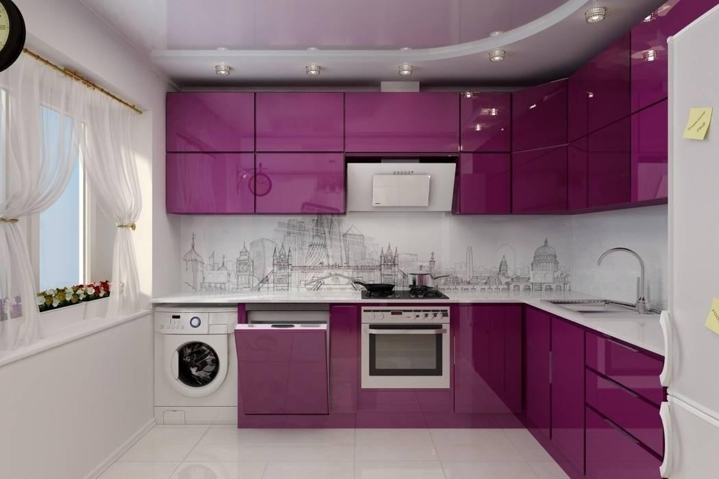 Дизайн кухни-гостиной. г. Буденовск: Кухни в . Автор – Цунёв_Дизайн. Студия интерьерных решений.