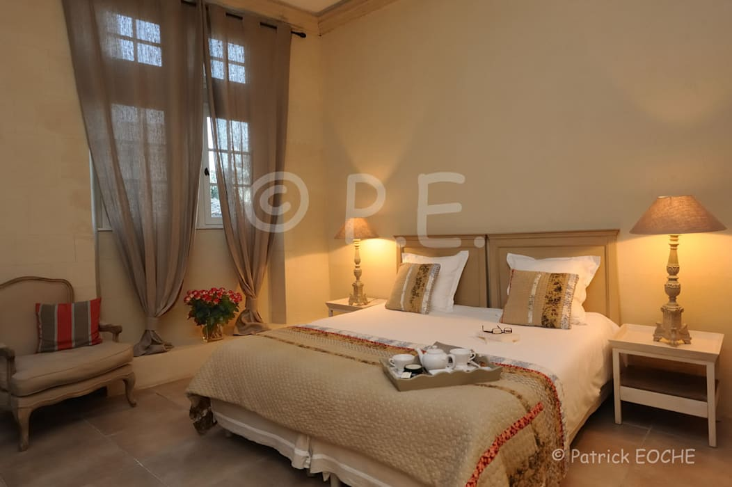 patrick eoche Photographie d'architecture Eclectic style bedroom