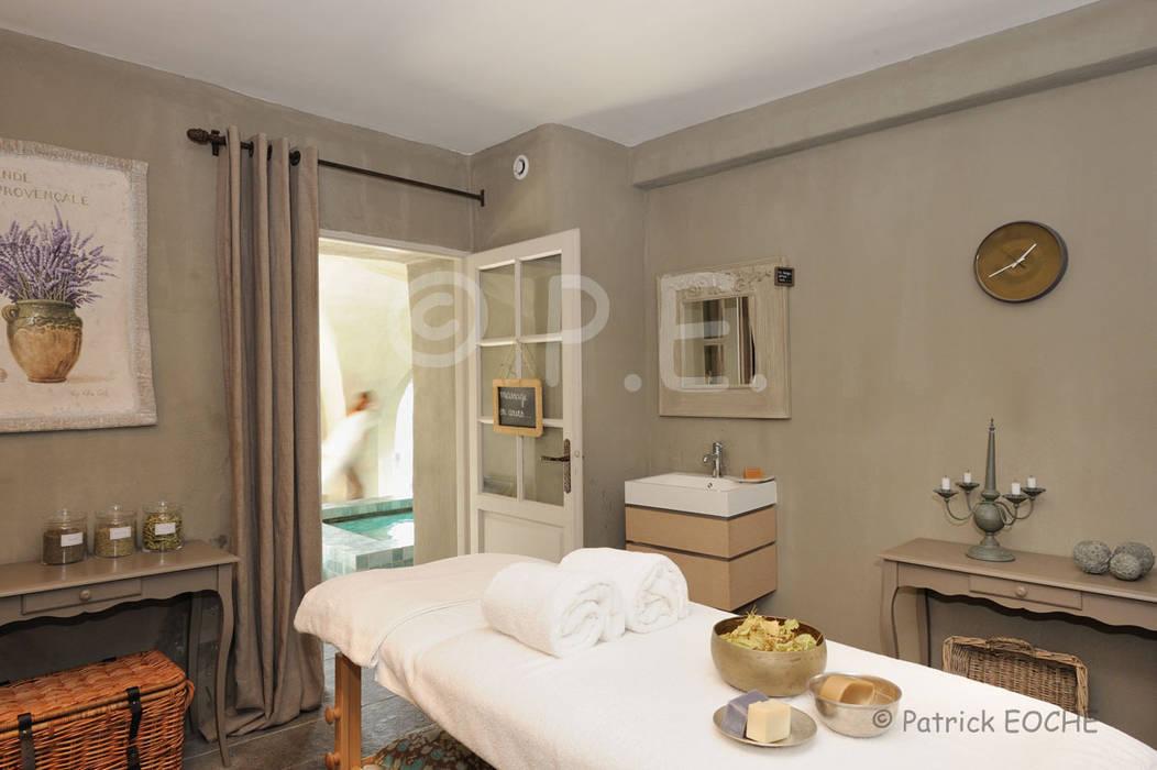 Immobilier, hôtellerie, chambre d'hôte patrick eoche Photographie d'architecture Spa méditerranéen