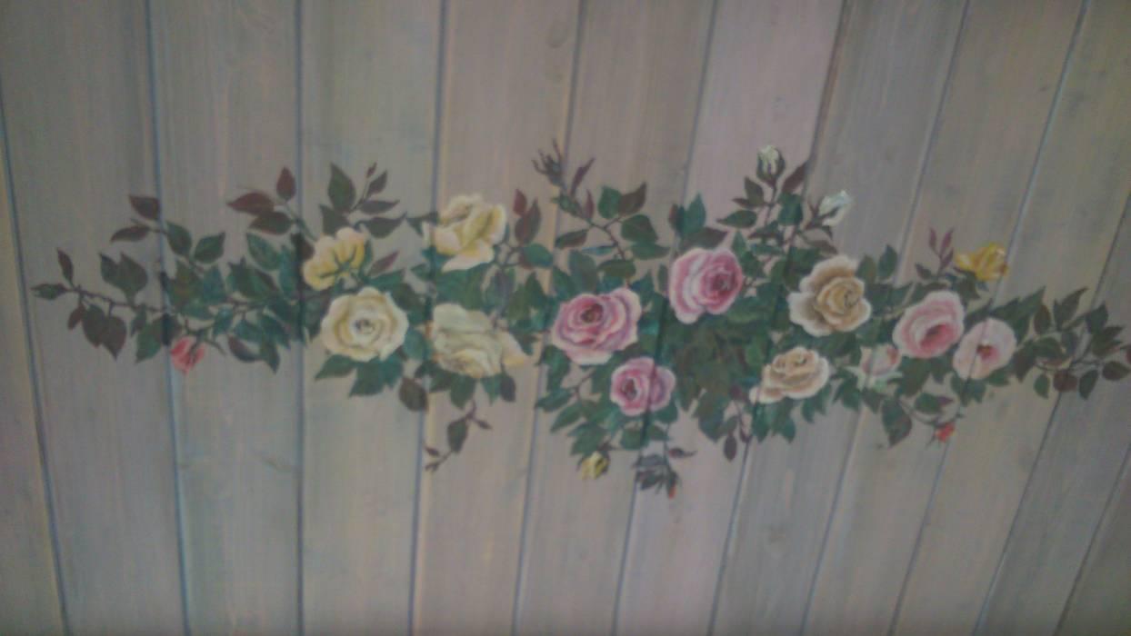 Потолок в кухне. Роспись по дереву.: Кухни в . Автор – Наталья Дубовая Charman-design