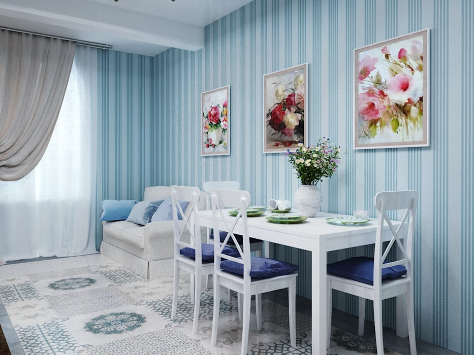 Дизайн кухни: Ар Деко, неоклассика или современный стиль? Студия дизайна ROMANIUK DESIGN Кухня в классическом стиле