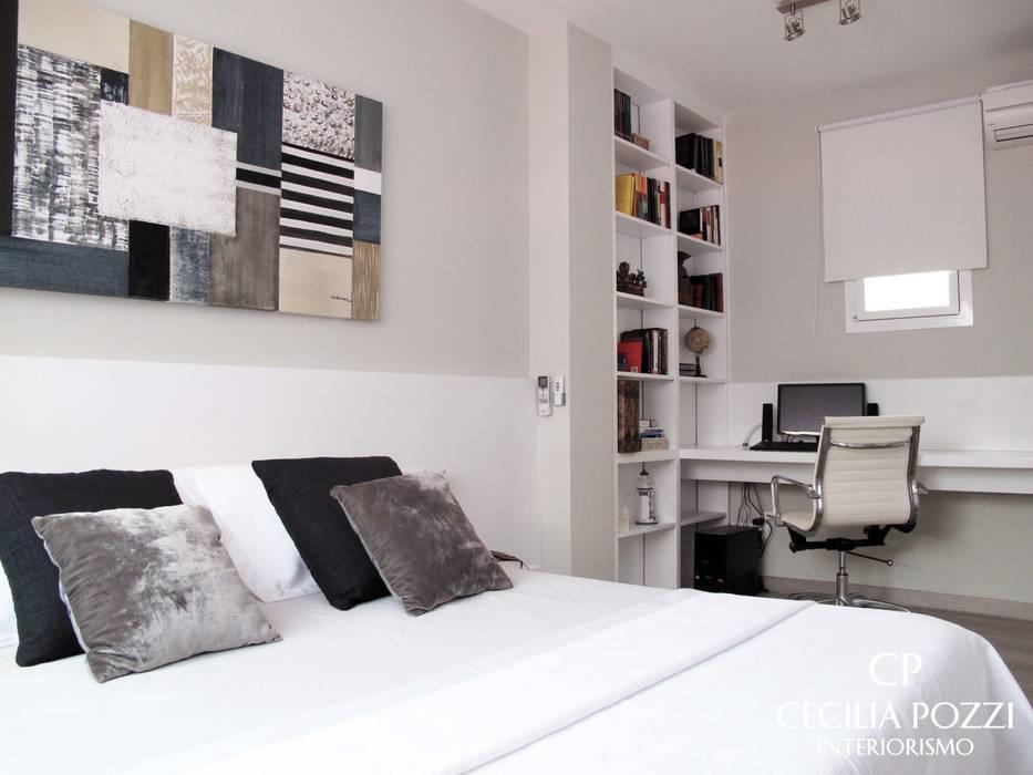 DORMITORIO PRINCIPAL CECILIA POZZI INTERIORISMO Dormitorios de estilo clásico de CECILIA POZZI INTERIORISMO Clásico