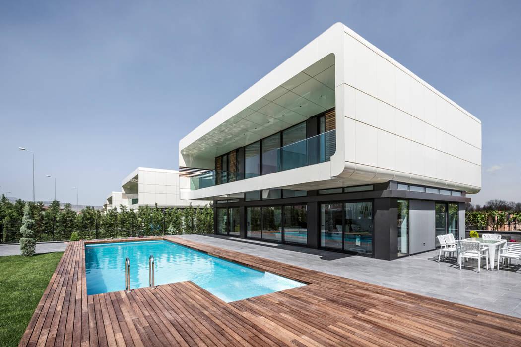BK House Modern home by Bahadır Kul Architects Modern