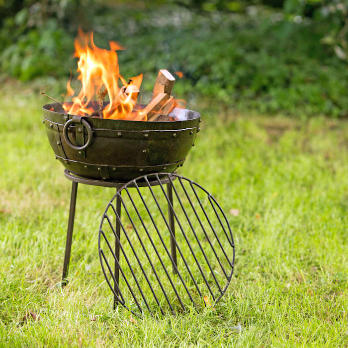 Portable firebowl Hen and Hammock Garden Fire pits & barbecues
