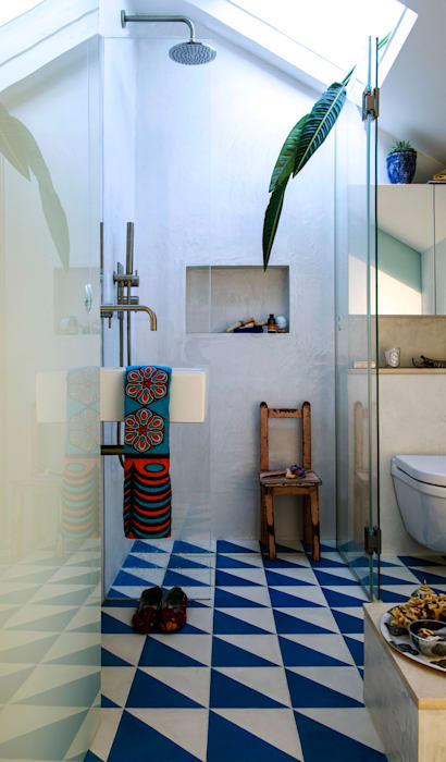 Peponi House STUDIO [D] TALE Tropical style bathrooms