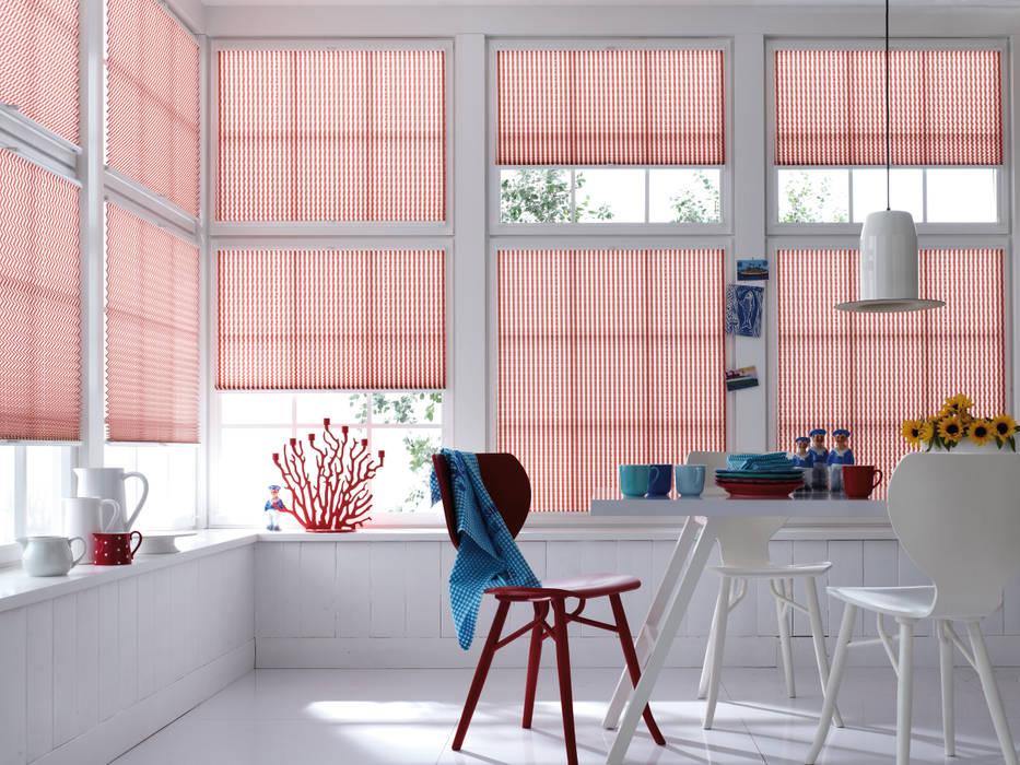Tende a vetro per soggiorno Soggiorno in stile scandinavo di Lasciati Tendare Scandinavo
