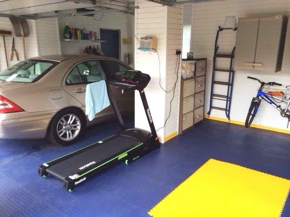 Need Inspiration for your own Home Gym? by Garageflex