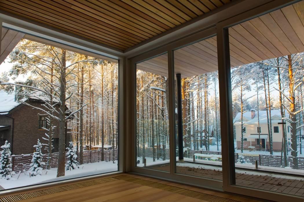 por ALEXANDER ZHIDKOV ARCHITECT Escandinavo