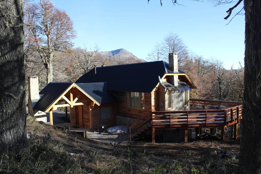 Дома в . Автор – Aguirre Arquitectura Patagonica