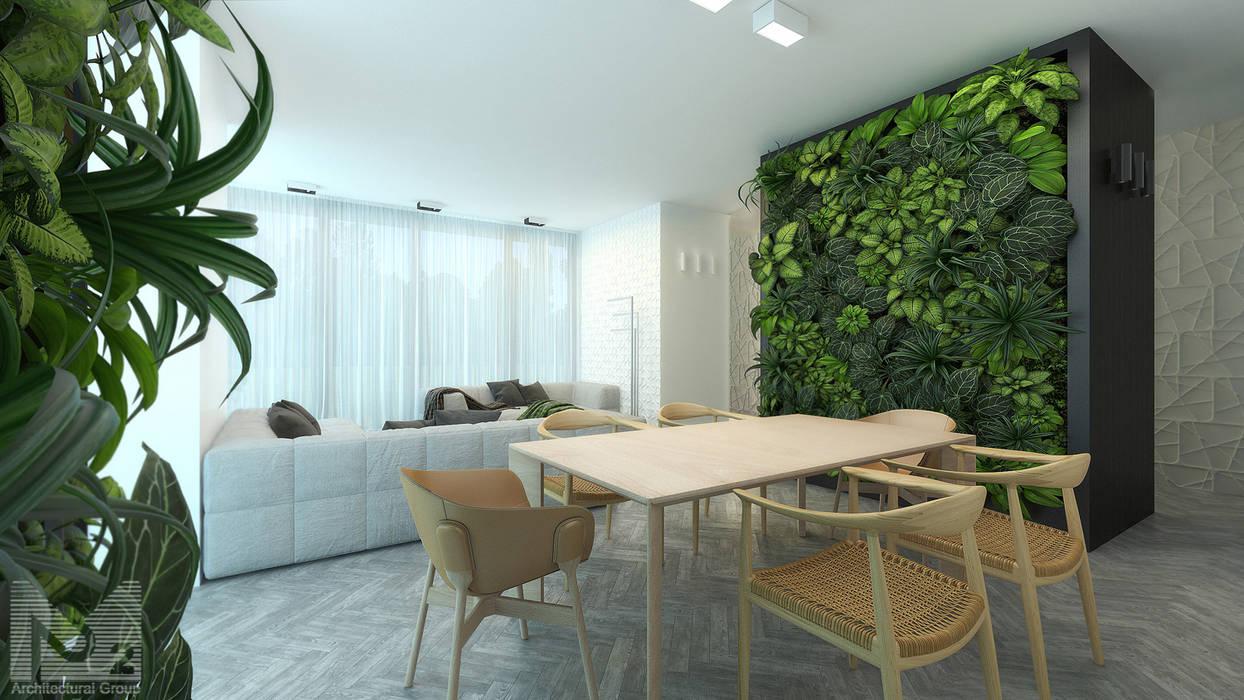 ALEXANDER ZHIDKOV ARCHITECT Living room