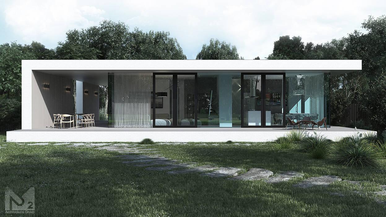 Houses by ALEXANDER ZHIDKOV ARCHITECT, Minimalist