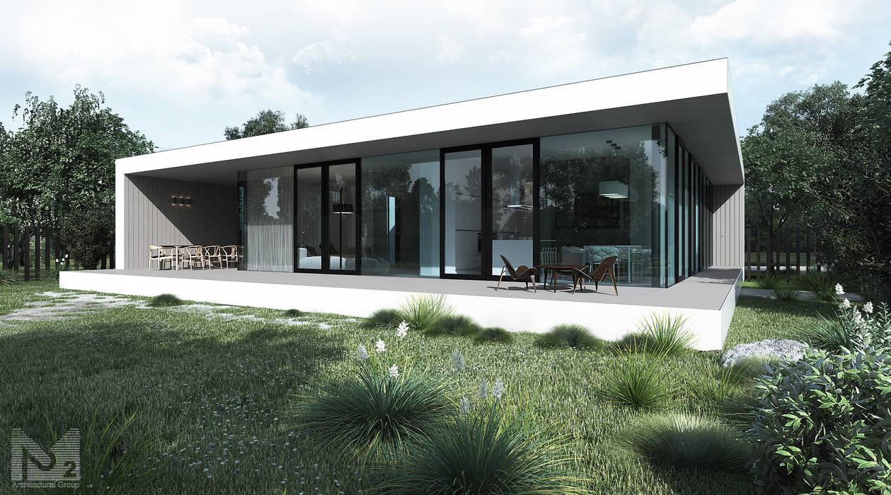 Prefabricated House Дома в стиле минимализм от ALEXANDER ZHIDKOV ARCHITECT Минимализм