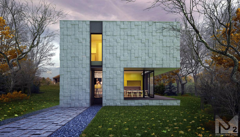 sugar house: Дома в . Автор – ALEXANDER ZHIDKOV ARCHITECT, Минимализм