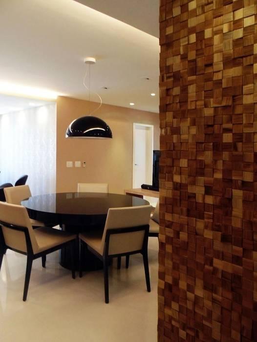 Hall: Salas de estar  por Paula Werneck Arquitetura