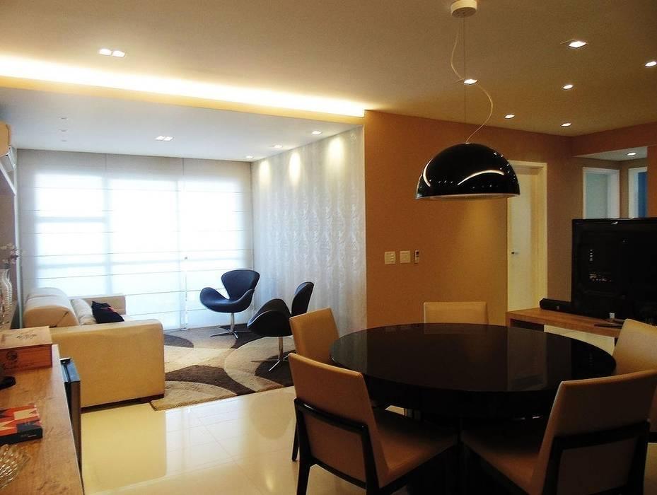 Sala de Jantar: Salas de jantar  por Paula Werneck Arquitetura