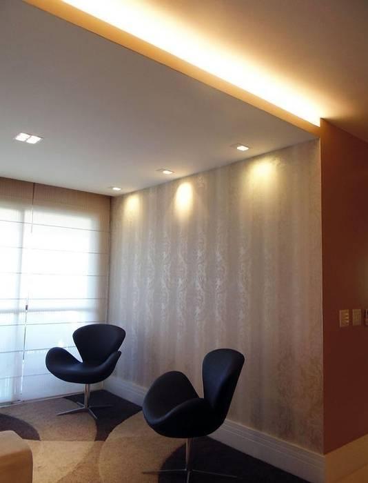 Sala de Estar: Salas de estar  por Paula Werneck Arquitetura