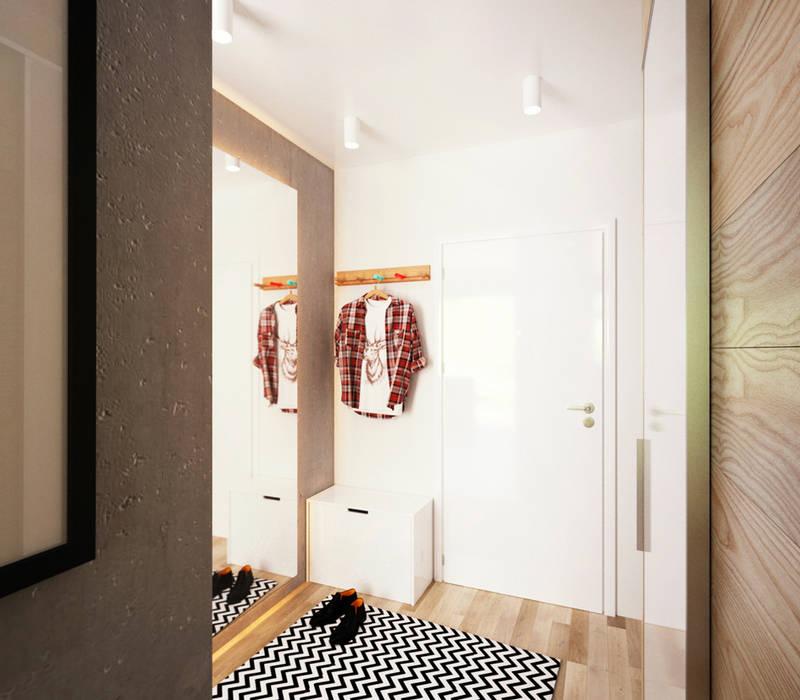 Pasillos y vestíbulos de estilo  de IK-architects