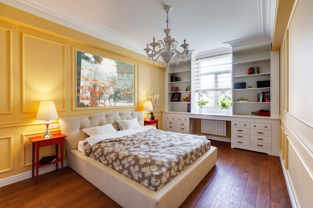 YOUSUPOVA Eclectic style bedroom