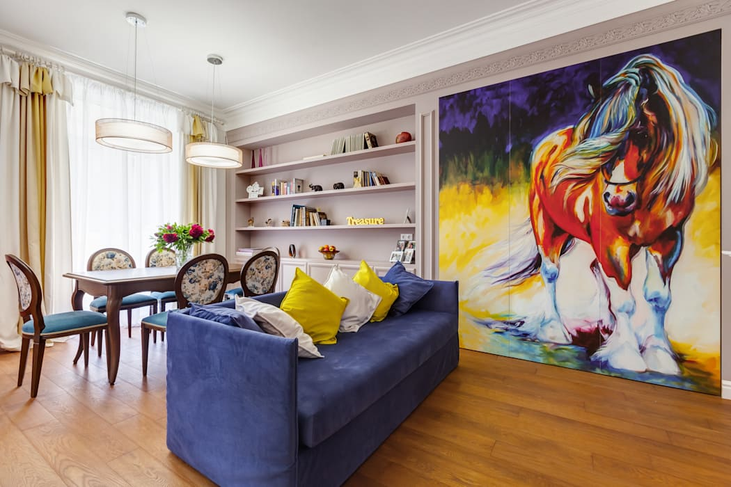 Ausgefallene Wohnzimmer von U-Style design studio Ausgefallen