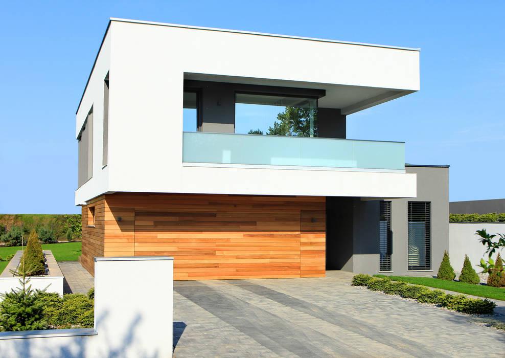 Moderne Häuser von STRUKTURA Łukasz Lewandowski Modern