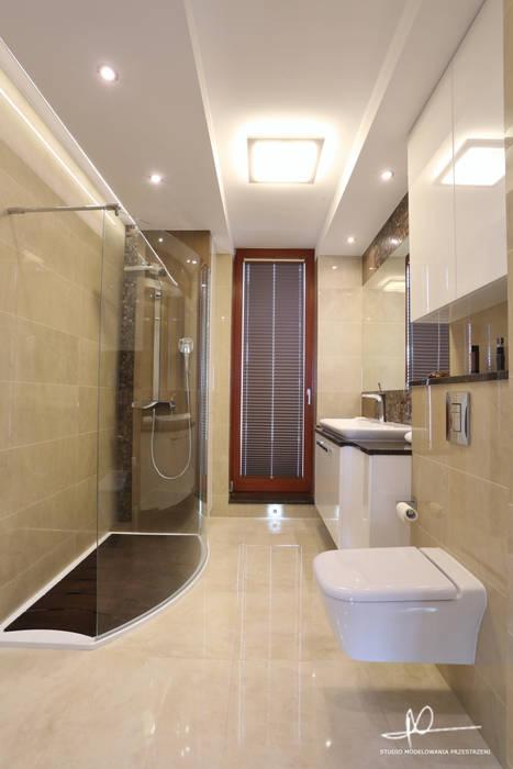 Łazienka: styl , w kategorii Łazienka zaprojektowany przez Studio Modelowania Przestrzeni